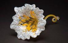 Make your own glass flower at Corning Museum of Glass in Corning, New York. Soo cool!