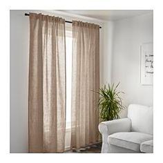 AINA Rideaux, 1 paire, beige - 145x300 cm - IKEA