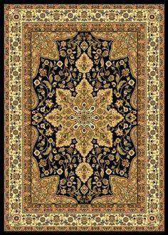 Home Dynamix Royatly Black Oriental Rug