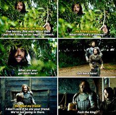 Game of Thrones - Sandor Clegane & Arya Stark
