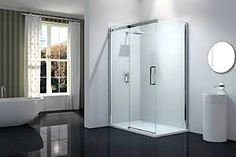 Merlyn Launches A New Vivid Ten Shower Enclosure Modern Shower, Modern Bathroom, Uk Homes, Smooth Lines, Shower Enclosure, Bathroom Showers, Bathrooms, Sliding Doors, Shower Trays