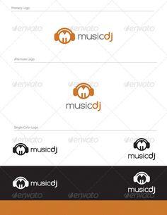 Music Dj Logo Design $29