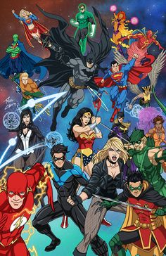 DC Heroes by phil-cho on DeviantArtYou can find Dc universe and more on our website.DC Heroes by phil-cho on DeviantArt Marvel Dc Comics, Math Comics, Dc Comics Superheroes, Dc Comics Characters, Dc Comics Art, Anime Characters, Gotham Comics, Superheroes Wallpaper, Batman Comic Wallpaper