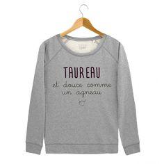 Sweat taureau | Madame T-shirt