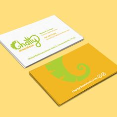 With a big brand reveal comes new promotional materials that speak the voice of the company, and in this case, in several languages! We've created these vibrant business cards with a bold personality to equip Chatty Chameleon instructors on their search for eager students.