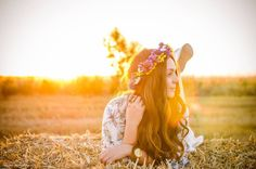 #fashion #bohostyle #floralcrown #hippie #summer #sunshine