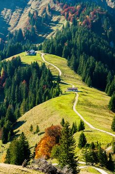 "Cabins, Bavaria, Germany ""Schone"""