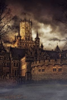 'A day without rain' by Bernd Zeisberg ~ The Marienburg, one of the most beautiful castles in Germany.