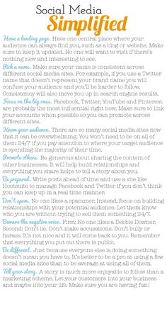 socialmedia  explained in easy terms for new business or blog