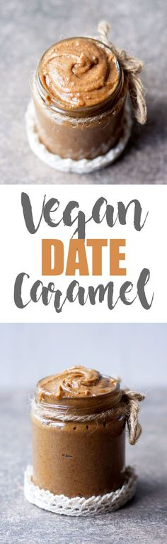 How to Make Healthy Vegan Date Caramel
