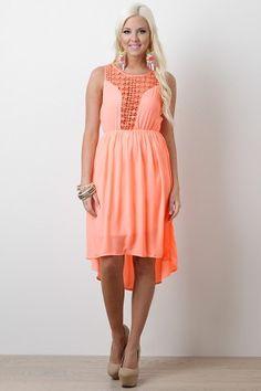 Swirl of Color Dress