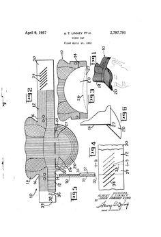 Patent US2787791 - Vizor cap - Google Patents