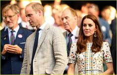 Kate Middleton & Prince William Support Andy Murray at Wimbledon!