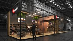 Orcun Halil Kaya on Behance Exhibition Stand Design, Exhibition Booth, Behance, Booth Ideas, Exhibitions, Coffee, Style, Hannover, Kaffee