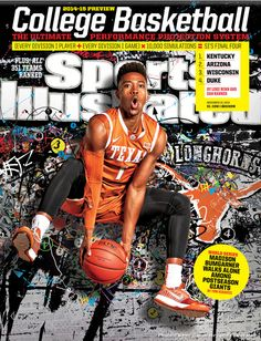Isaiah Taylor makes cover of Sports Illustrated's College Basketball Preview Magazine - Horn Sports