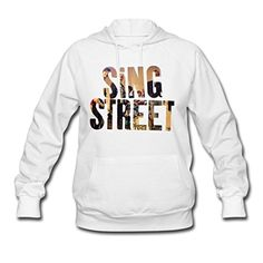 Desic Fashion Sing Street Logo 2016 Lady's Original Hoodies Tee White XL -- Awesome products selected by Anna Churchill