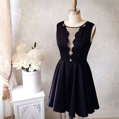 Beatha www.1861.ca #boutique1861 #blackdress #cocktaildress #lbd
