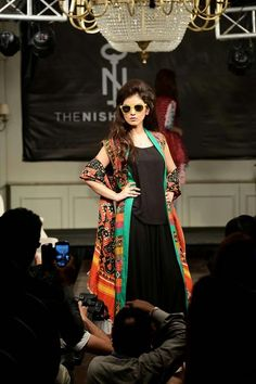 Exclusive Fall and Winter Dresses 2015 In Western Style By Nishat Linen -  WFwomen #evening dresses 2015