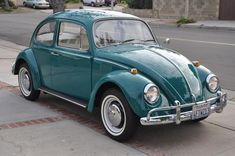 Volkswagen Beetle....love the color