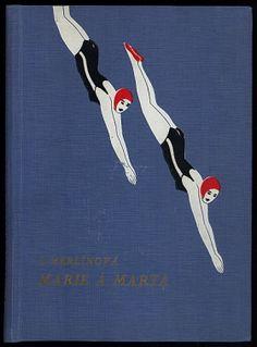 1920's Art Deco Book cover, Czechoslovakia. @designerwallace