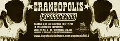 Exposición Musical De CráneoPolis, Julio 2013 Musical, Parking Lot