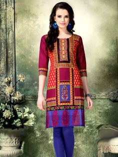 Contemporary Cotton Kurti