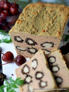pasztet-z-indyka-nadziewany-smardzami Sauerkraut, Polish Recipes, Polish Food, Food For Thought, Banana Bread, Catering, Muffin, Dishes, Breakfast