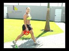 Ginástica em casa: Pernas Saradas com a Lu Oliveira - YouTube