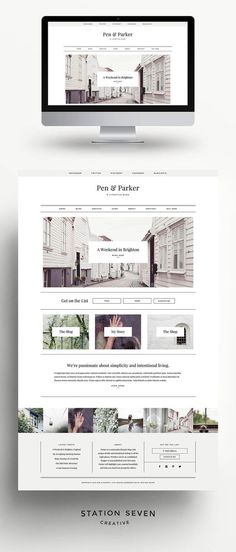 Parker is a minimalist lifestyle blog with intentional style in all the right places. Whether you're an established blogger or just published your first post, Parker will highlight your content beautifully and help you stand out among all the others. For more details check out the features below and the FAQs. >>> More info could be found at the image url. #WebDesignLayout