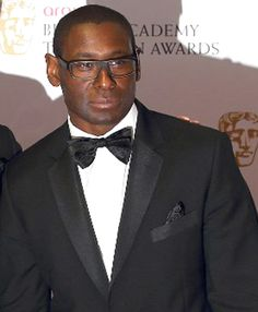David Harewood...Yeah I know . I pinned him for sexy men but  he's also one of my favorite actors.