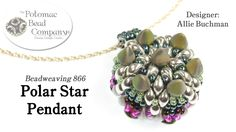 """This video tutorial from The Potomac Bead Company teaches you how to make Allie Buchman's """"Polar Star Pendant"""" design. FInd a list of supplies in the descrip..."""