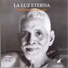 Libro con DVD de Sri Ramana de la editorial Trompa de Elefante. LA LUZ ETERNA. España.