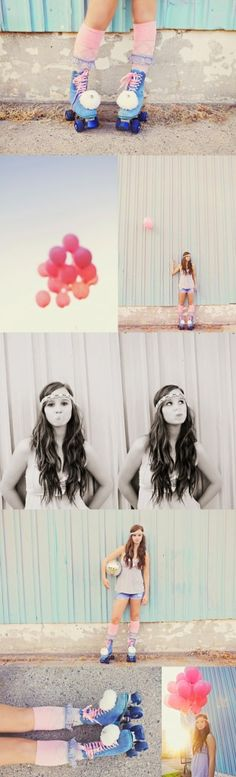 Posh Poses | Solo | Senior Pics | Sassy Collage | Vintage | Senior Girls