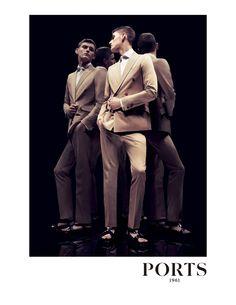 Ports 1961 Spring/Summer 2012 Advertising Campaign: Structured Formal Stylish Summer Menswear For Modern Elegant Men