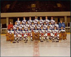 """Olympic Hockey Team, 1980.  Do you believe in miracles? """"The Miracle on Ice,"""" the 1980 U.S. Olympic Hockey Team's victory over the heavily favored Soviet Union, remains one of those memorable moments that transcends sports history. Composed mostly of college-aged players, 12 of them from Minnesota, the U.S. team won a hard fought victory over the Soviets 4-3 and went on to defeat Finland for the gold medal."""