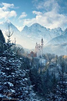 Neuschwanstein Castle #Bavaria
