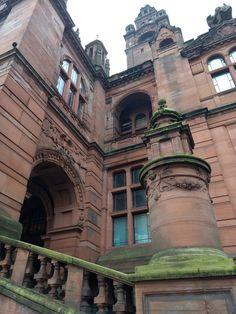 Glasgow Scotland museum Kelvingrove architecture Глазго Шотландия