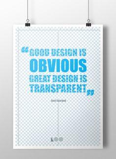 Good vs Great design by Radimira Yordanova, via Behance