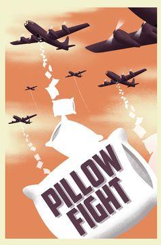 Pillow Fight by Tommcweeney.deviantart.com on @deviantART