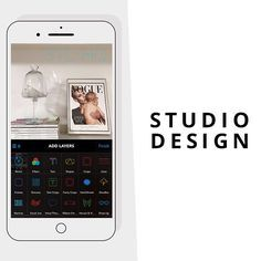 app fotos celular studio design