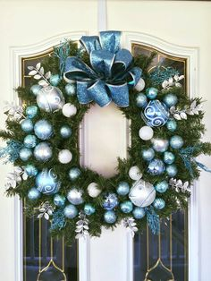 Gorgeous handmade Christmas wreaths. Please visit us at https://www.etsy.com/shop/ChristmasWreathology?ref=pr_shop_more.