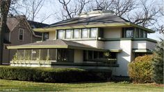 J. Kibben Ingalls House, 562 Keystone Avenue River Forest, Illinois - 1909 - Frank Lloyd Wright