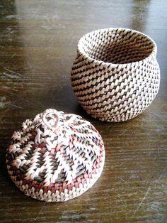 Housewarming gift Woven jewelry chest Wicker от Viyaswickerworks