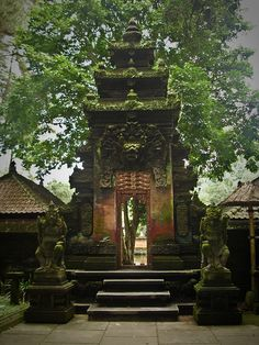 Tampak Siring Temple /holy spring water temple. Indonesia .