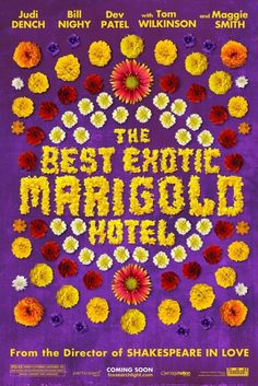 The Best Exotic Marigold Hotel (2012) made us laugh out loud