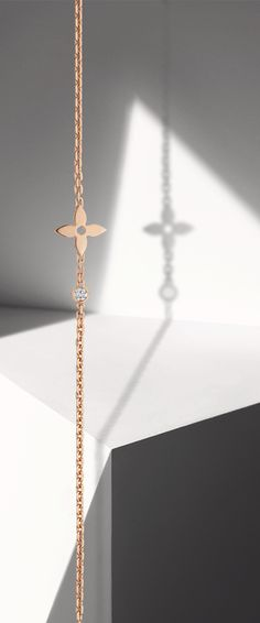 For the woman with a rose-colored view of life: the Louis Vuitton Monogram Fine Jewelry Collection