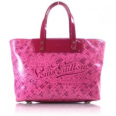 LOUIS VUITTON Cosmic Blossom PM Tote Bag Rose.