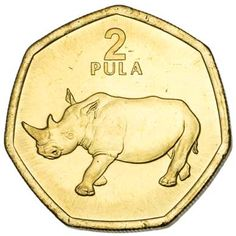 Botswana 2-PULA (KM25a) Gold Bullion, Pula, World Coins, Coin Collecting, North Africa, Silver Coins, Kenya, African, Humor