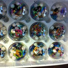 Homemade Disney ornaments