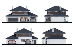 m² Wysokość m Kąt nachylenia Modern Family House, Best Modern House Design, Small Modern Home, Modern House Plans, Sims House Plans, Dream House Plans, Home Building Design, Building A House, Living Room Wood Floor